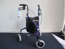 3 wheel rollator light weight